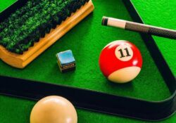 billiards pool table and accessories