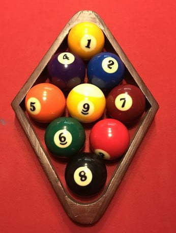 How To Rack 9 Ball Pool