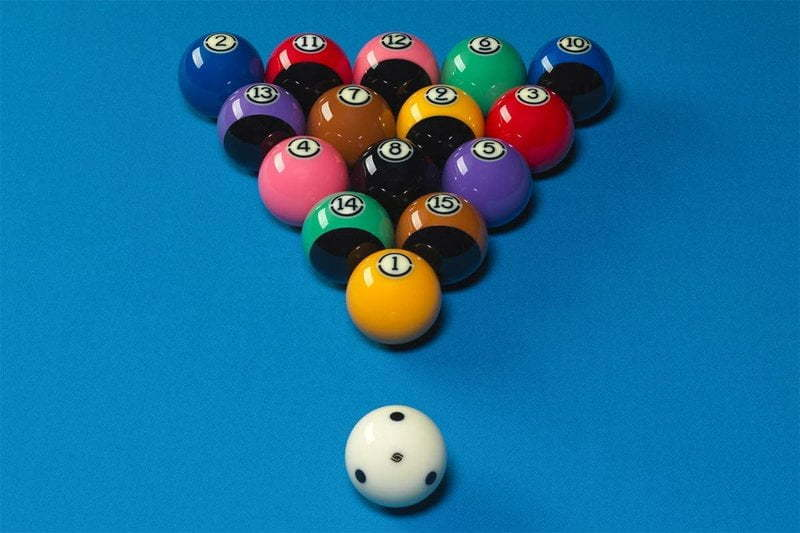 8 ball pool rack