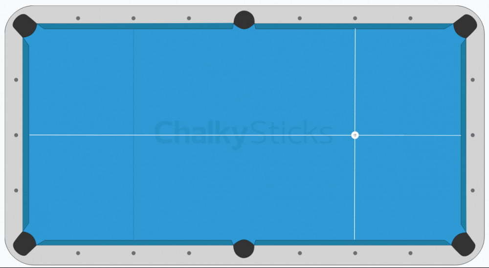 rack marker on pool table