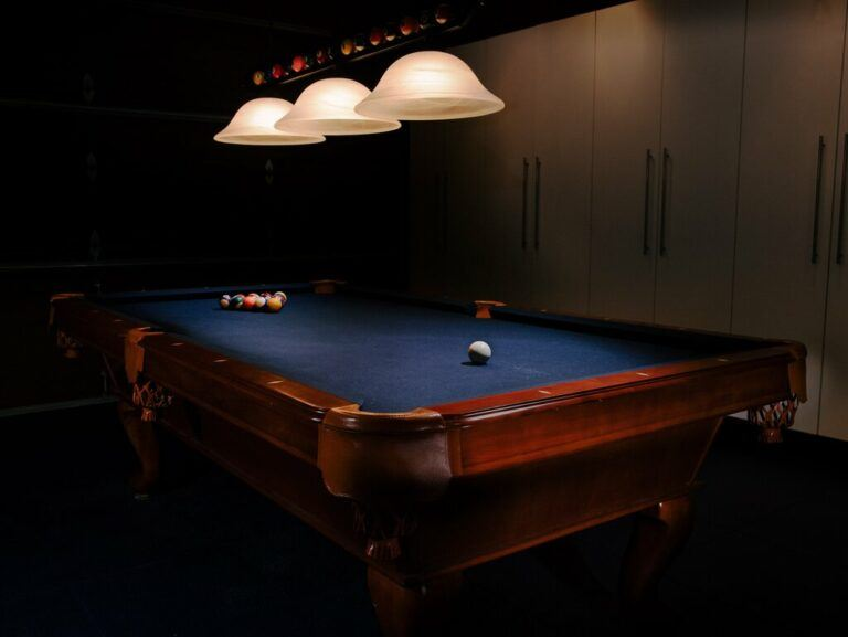 How Much Room Do You Need For A Pool Table?