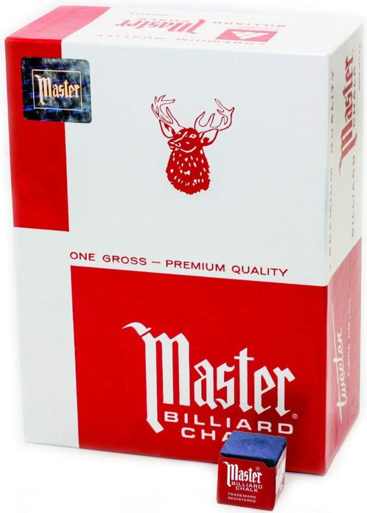 master billiard chalk review