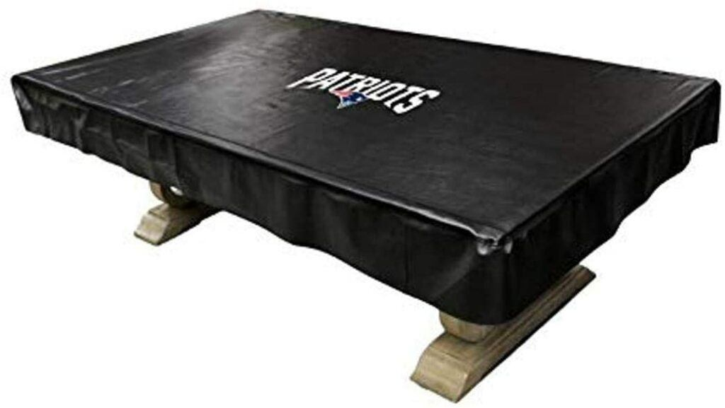 Patriots Pool Table Cover