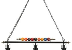 lakiq 3 light hanging pool table light