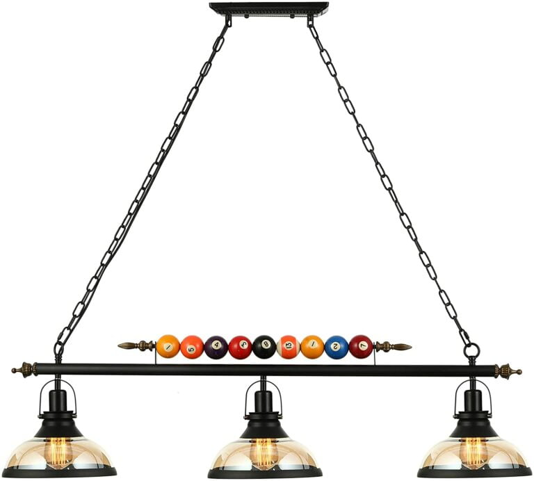 Best Pool Table Lights of 2021 (Reviews)