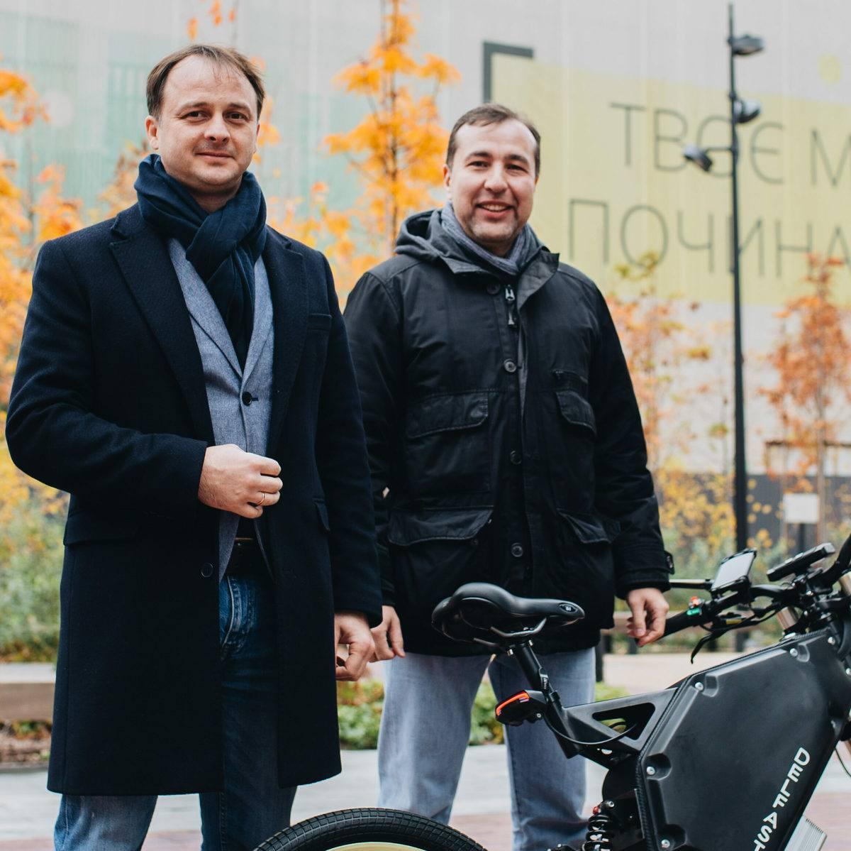 Delfast Founders: Daniel Tonkopiy and Serhii Denysenko