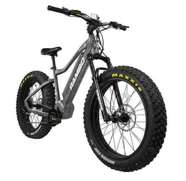 Rambo Rebel 1000W Carbon XPS Electric Hunting Bike