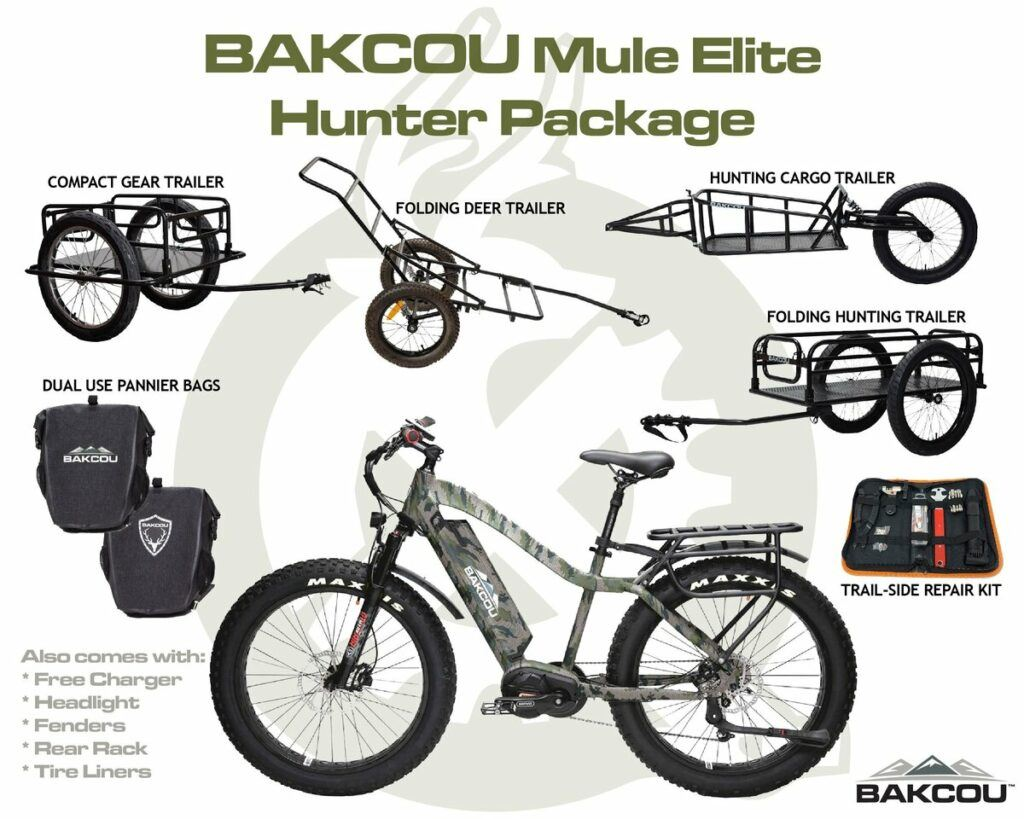 bakcou mule elite hunter package