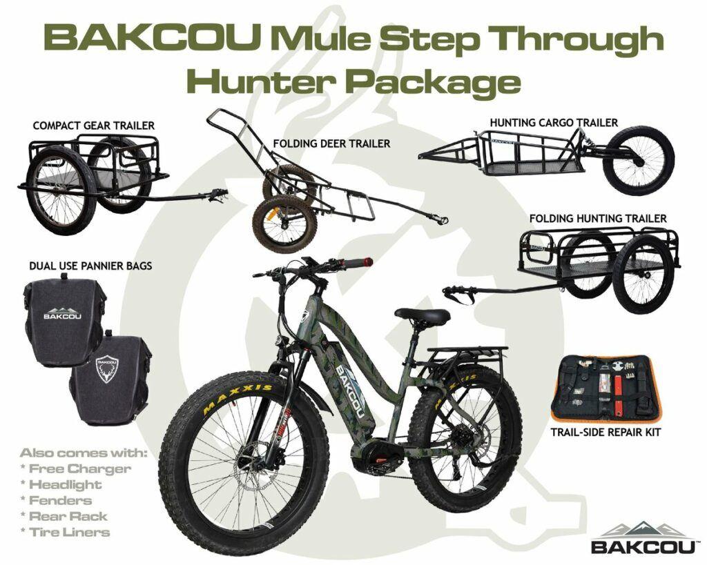 bakcou mule elite step through hunter package