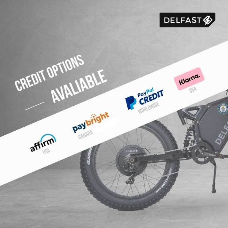 Ways to Pay For A Delfast E-Bike