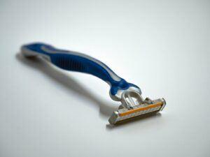 picture of razor for shaving legs