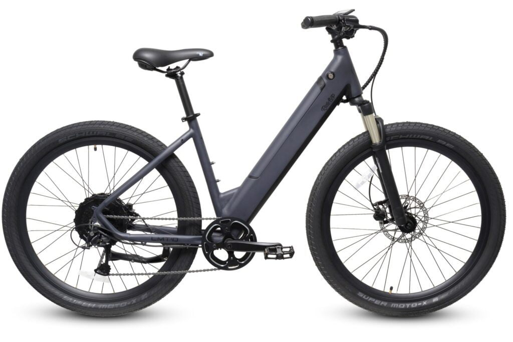 Ride1UP LMTD Midnight Gray Step Thru Electric Bike